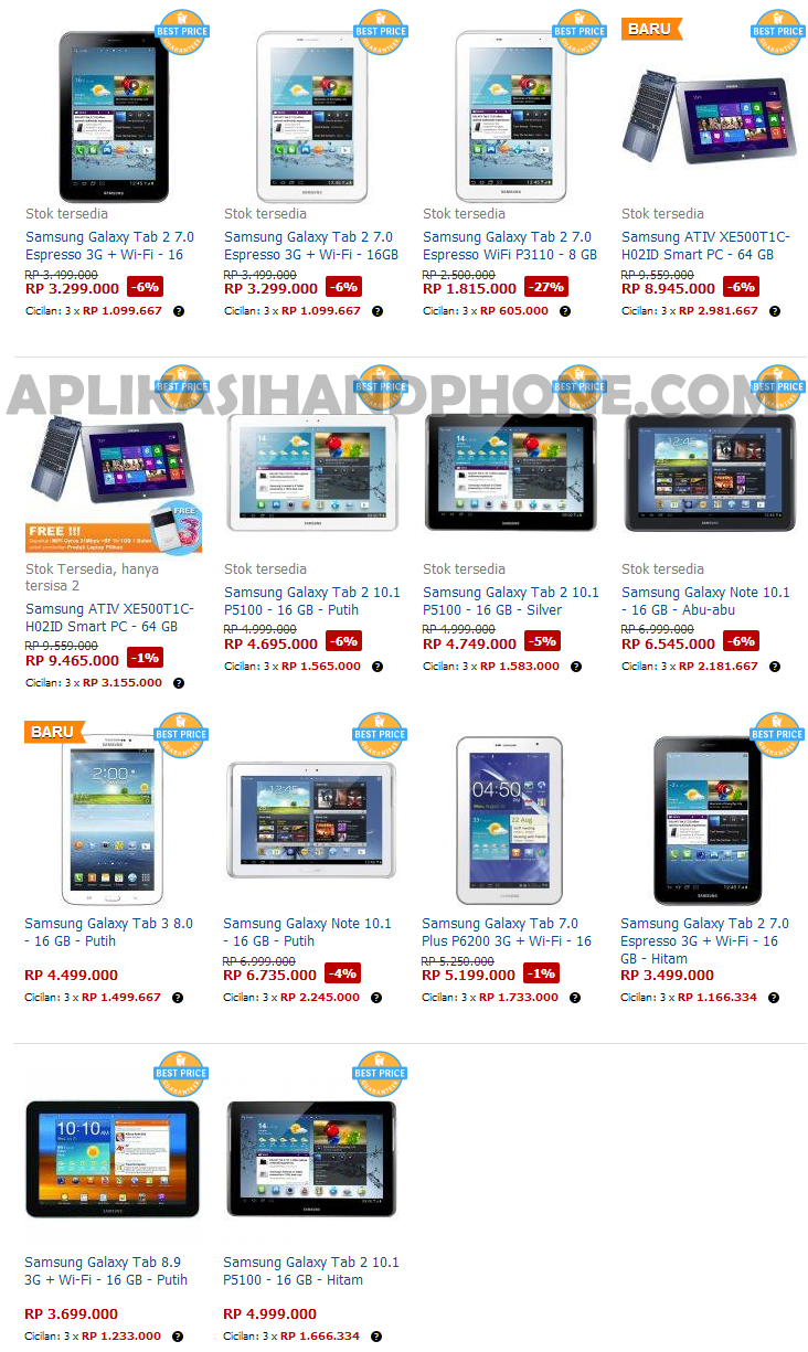 Harga Tablet Bulan Februari 2013 Icefilmsinfo Globolister Harga Hp Samsung Android S2 Harga Hp Samsung Android Mei 2013 Apps