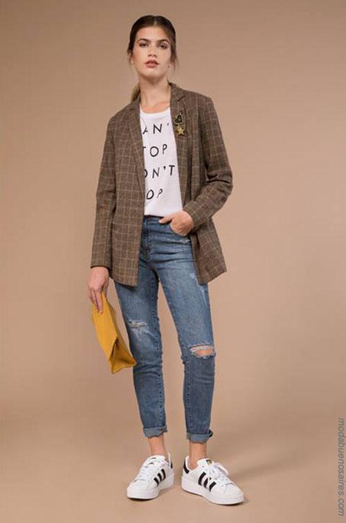 Sacos de moda para mujer 2018.
