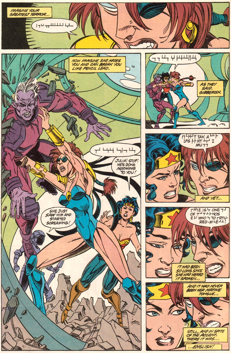 Read online Wonder Woman (1987) comic -  Issue #71 - 7