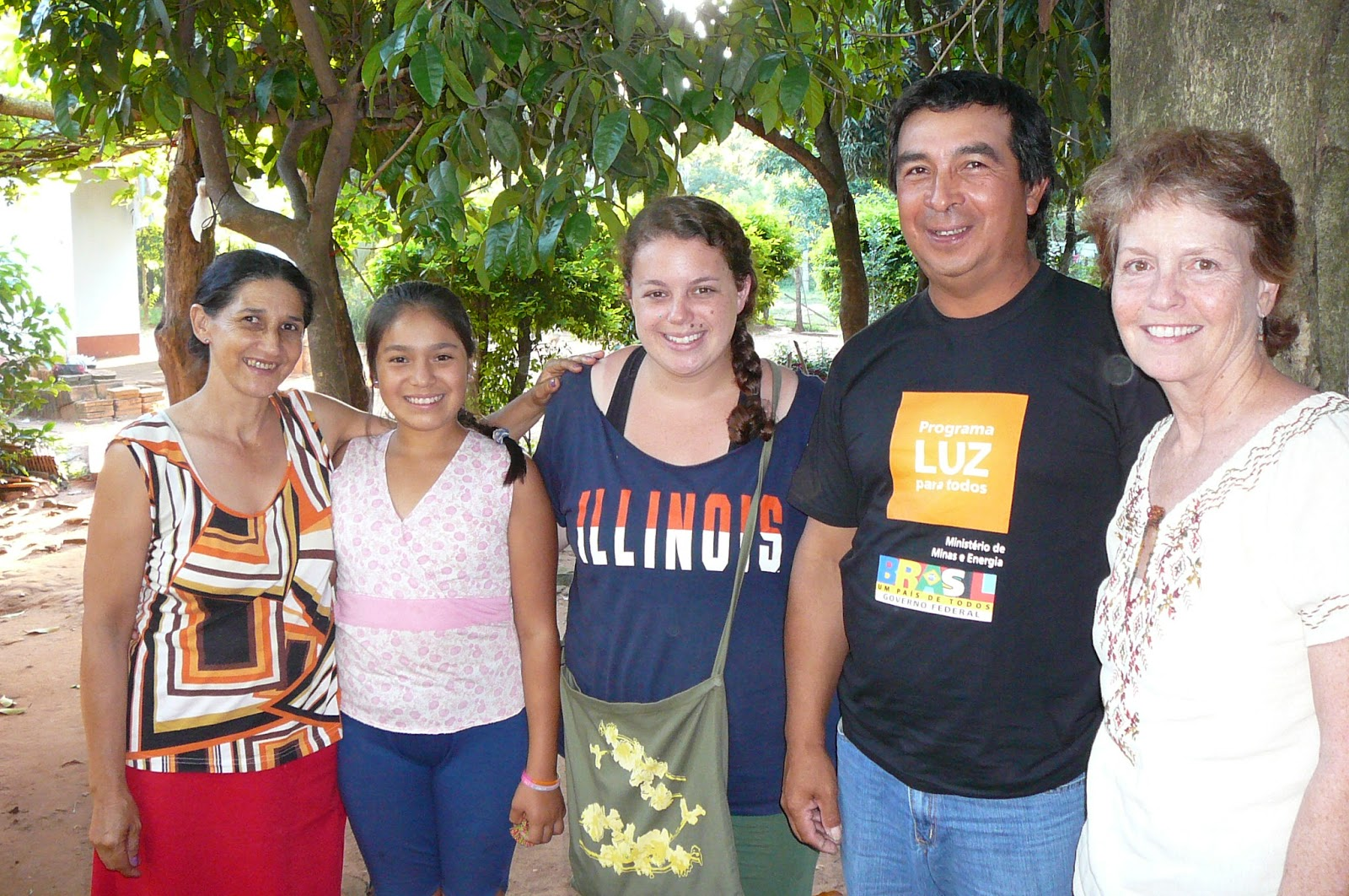 Paraguay: Chabad's Hard Work is Paying Off | Travelling Rabbi |Paraguay Family With Godparents