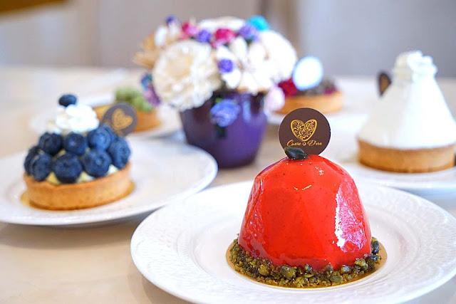 DSC02002 - 熱血採訪│隱藏在台中七期的藍帶甜點,金心盈福Cuore D'oro法義甜點