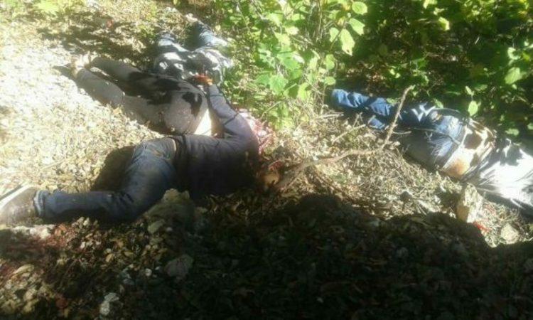 Hallan ejecutados a cuatro hombres y una mujer en San Luis Potosí