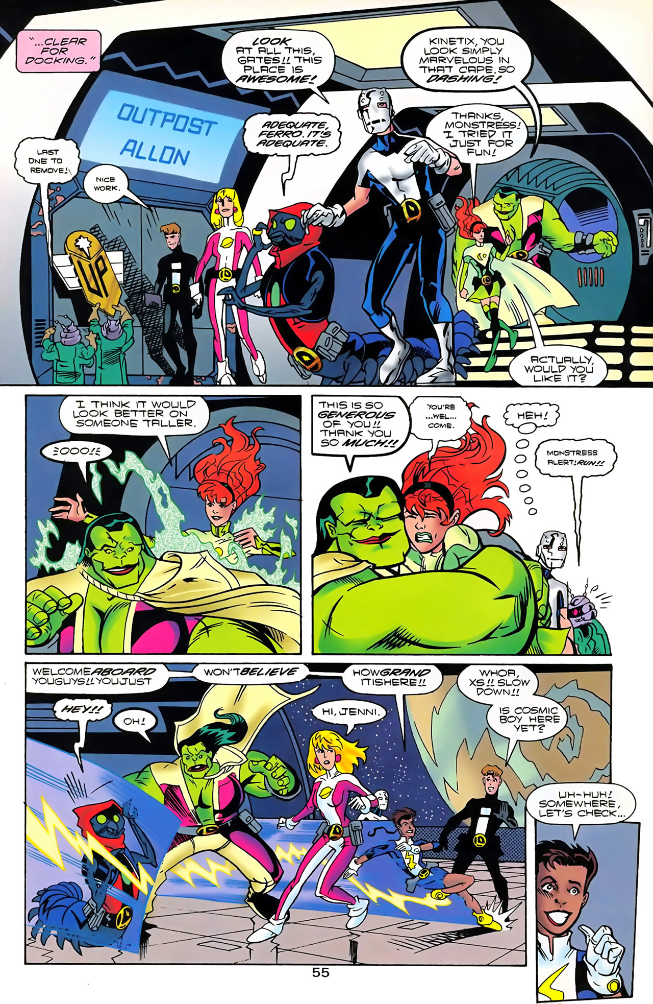 Legion of Super-Heroes (1989) 100 Page 49