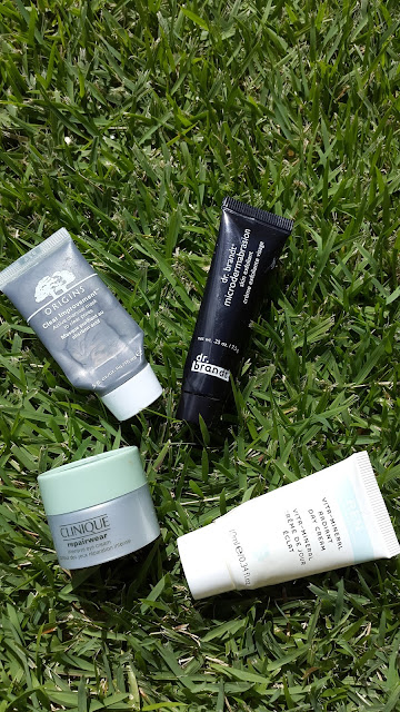 Skincare samples - www.modenmakeup.com