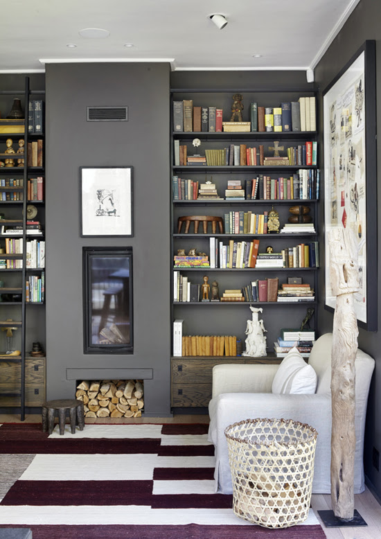Safari Fusion blog | Library style | A contemporary style library in a Newlands [Cape Town] home, South Africa