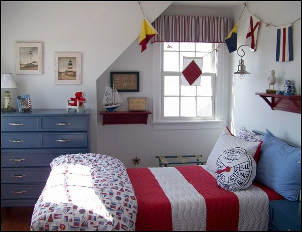 Decorating theme bedrooms - Maries Manor nautical bedroom ideas - nautical bedroom ideas