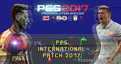 PES 2017 PESInternational 2017 Patch