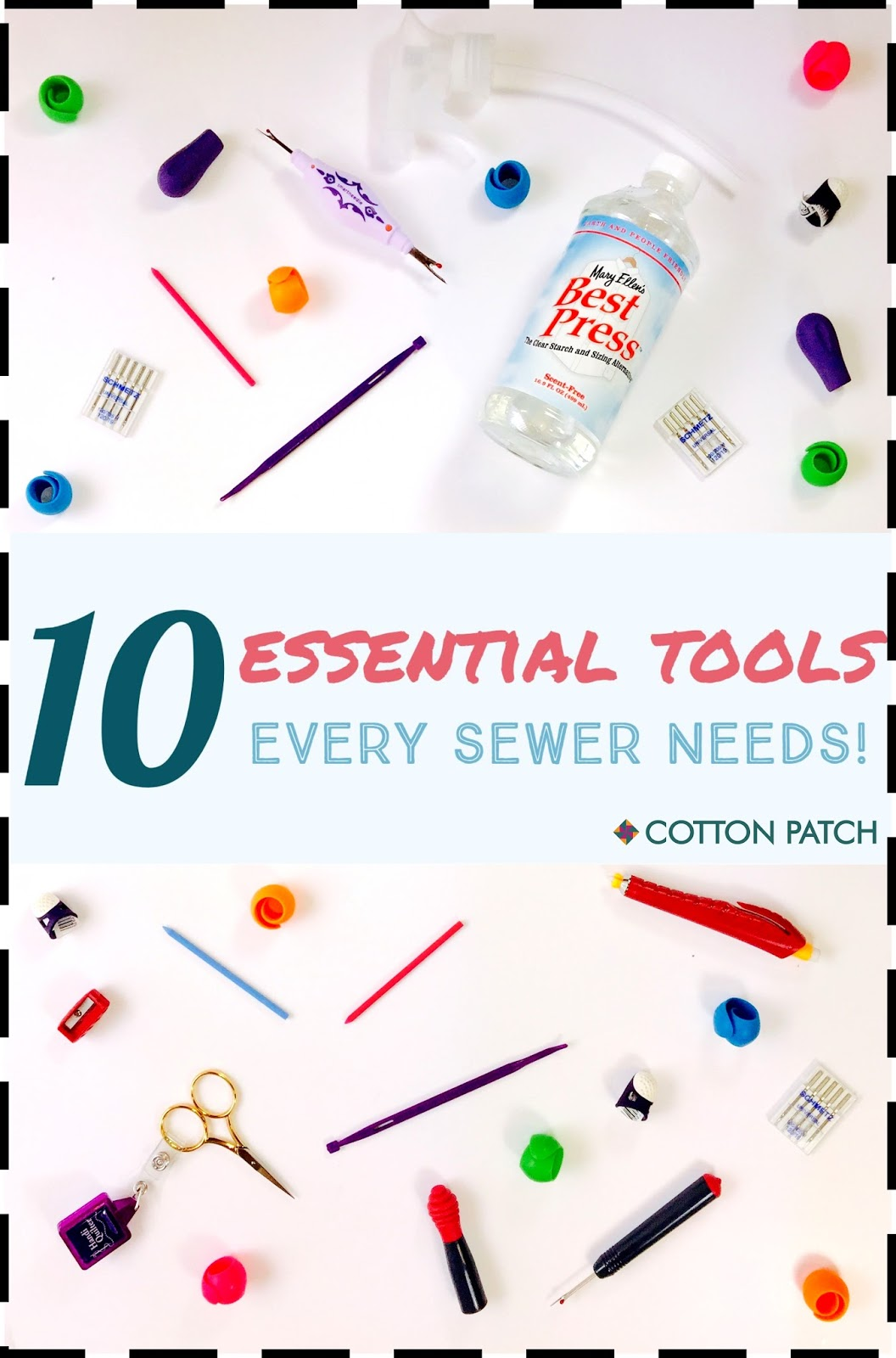 Essential Tools For Your Makeup Bag: 10 Essential Tools Every Sewer Needs