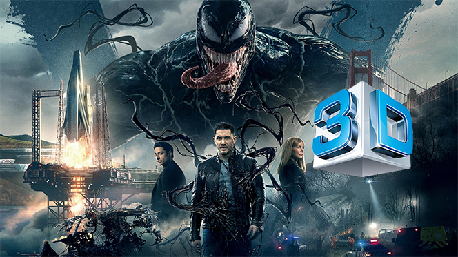 Venom (2018) 3D SBS Full 1080p Latino-Castellano-Ingles