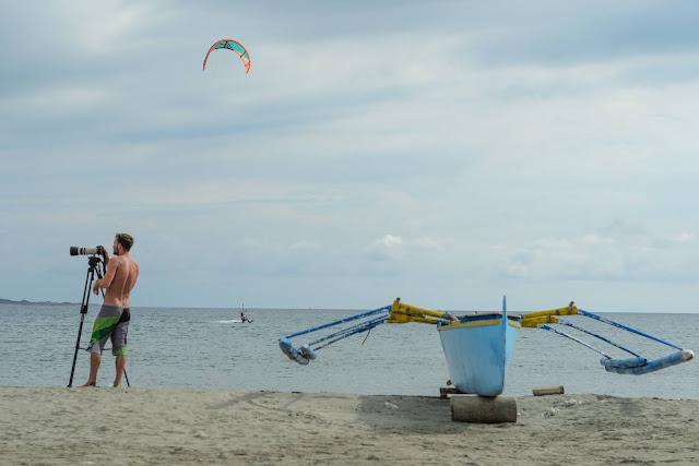 Kiteboarding Event Photographer Puro Pinget Island Magsingal Ilocos Sur Philippines