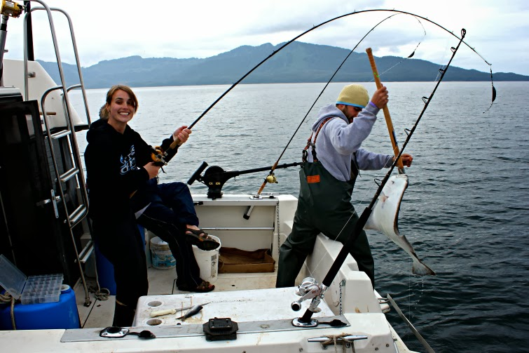 Fishing in Prince William Sound