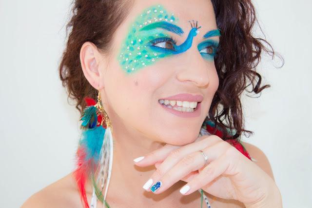 Maquillage artistique façon Paon 💕 | MSC