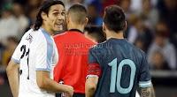 الأرجنتين تتجنب الخسار وتتعاد مع أوروجواي في المباراة الودية