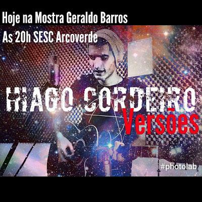 Hiago Cordeiro faz pocket show dentro da Mostra de Artes Geraldo Barros em Arcoverde
