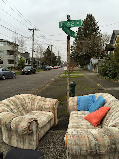 Loveseat and Couch Fremont