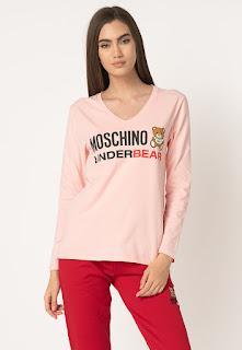 Moschino - Дамска  Блуза с шпиц