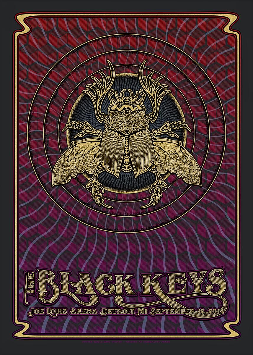 Inside The Rock Poster Frame Blog Dave Hunter The Black