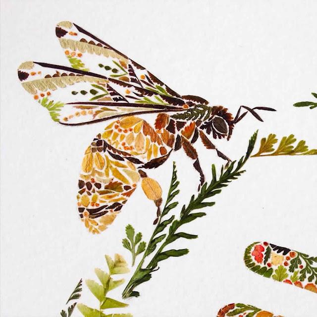 رسومات من أوراق شجرة السرخس للطبيعة 6