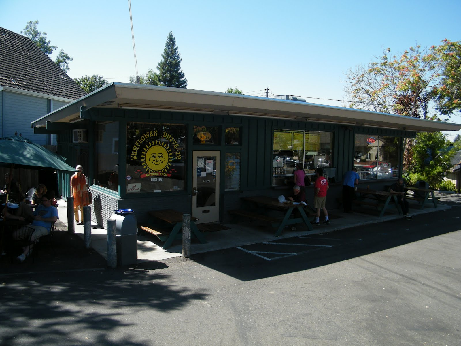 Sacramento Vegan Sunflower Drive In