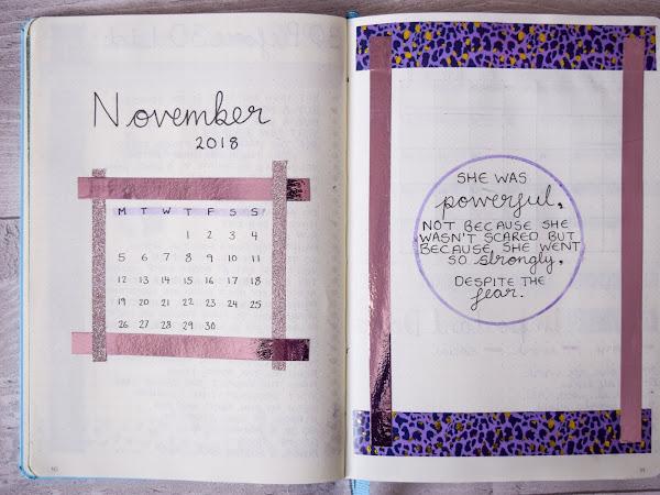 Bullet Journal | Planning November 2018