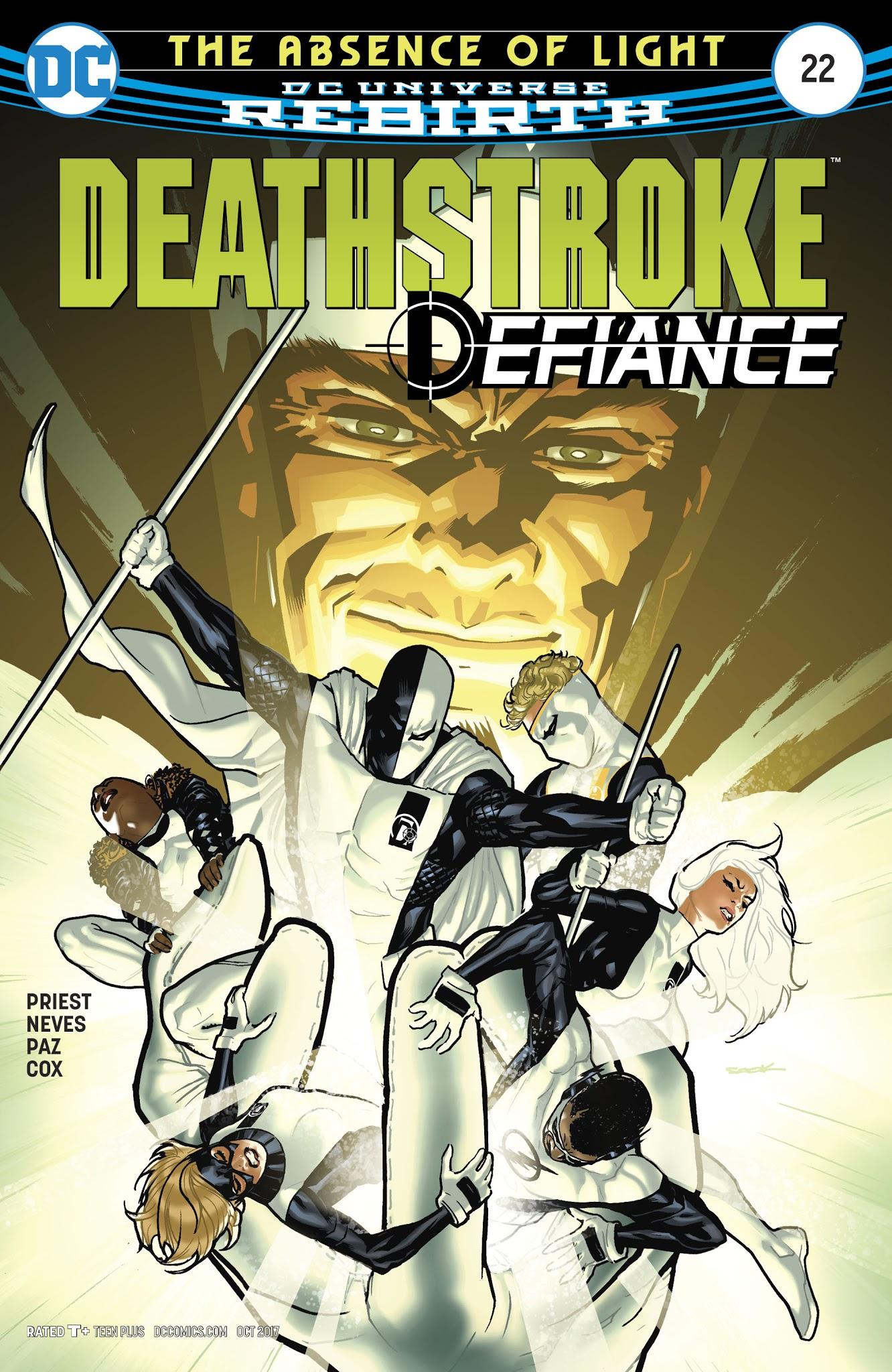 Deathstroke (2016) 22 Page 1