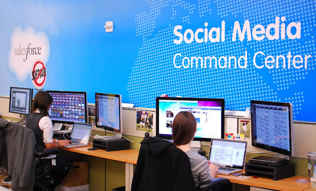 Las empresas deben optar por un Social Media Command Center