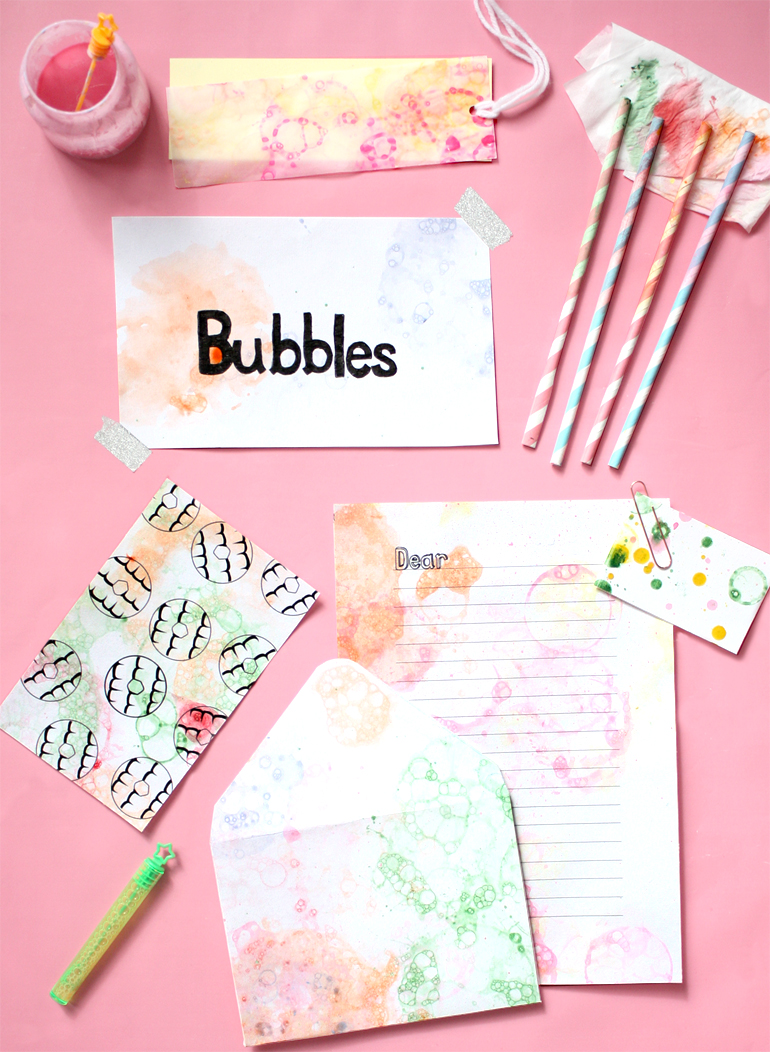 bubble art prints