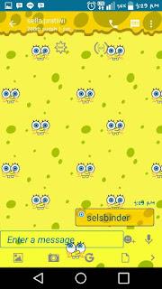 BBM Mod Spongebob Free Versi 2.12.apk Terbaru