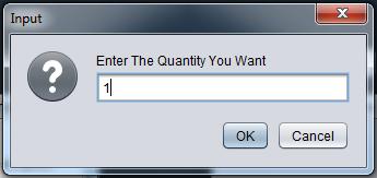 java inventory system - quantity