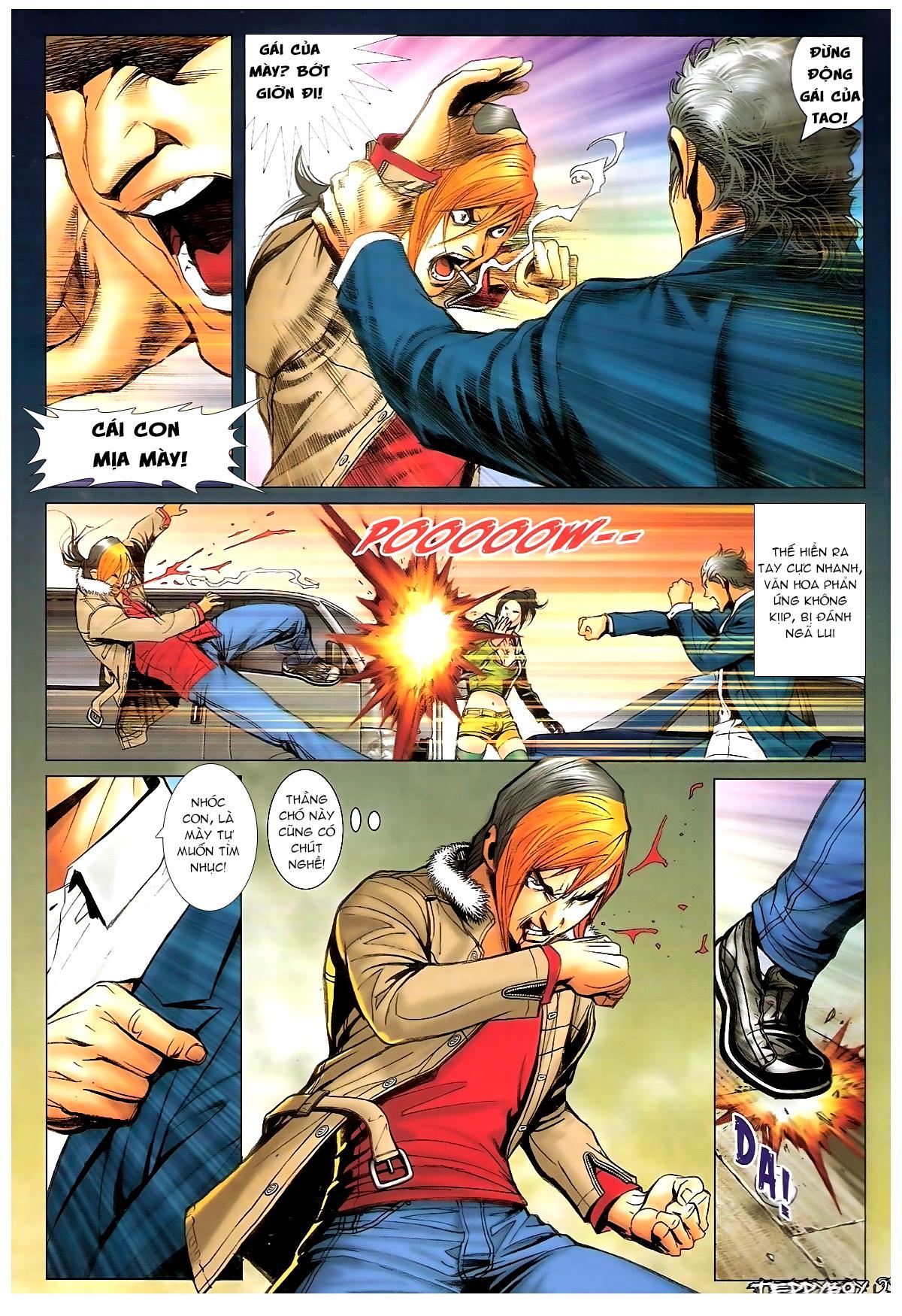 Người Trong Giang Hồ - Chapter 1372: Làm dữ - Pic 18