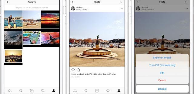 Cara Mengarsipkan Postingan di Instagram  5