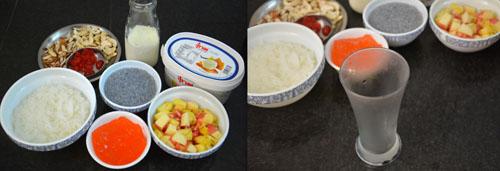 ingredients for making falooda