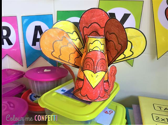 Pavo en 3D  ♥ 3D Turkey Craft