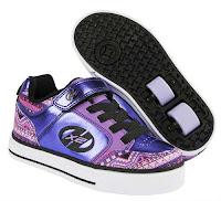 Bambas con Ruedas Heelys Thunder X2 color púrpura