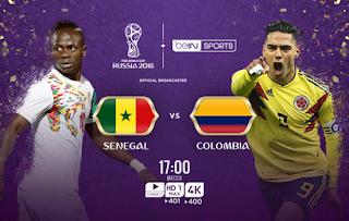 مشاهدة مباراة السنغال و كولومبيا في كأس العالم 2018 بتاريخ 28-06-2018 موقع ماتش لايف