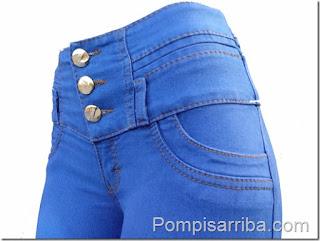 Pantalon Colombiano de mayoreo jeans pompis arriba de mayoreo