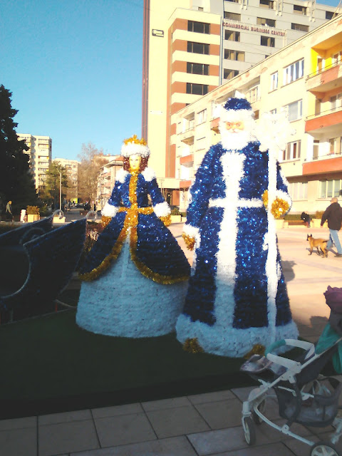 Saint Nicholas, The Ice Princess, Yambol, Christmas,