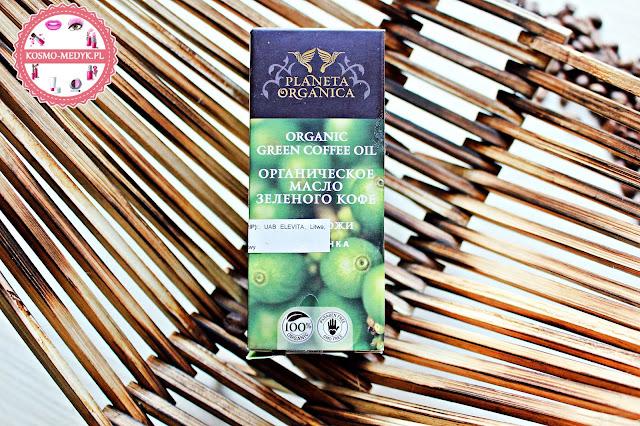 Olejek z zielonej kawy do pielęgnacji ciała - Planeta Organica.