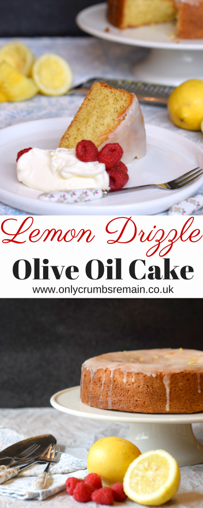 How to make a Lemon Drizzle Olive Oil Cake