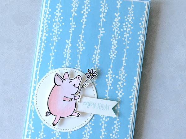 Enjoy Today Says This Little Piggy