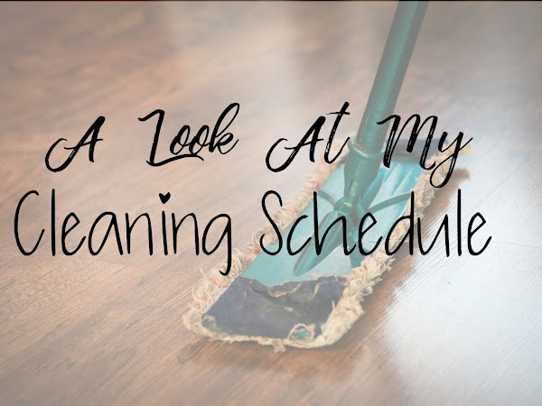 Creating a Cleaning Schedule