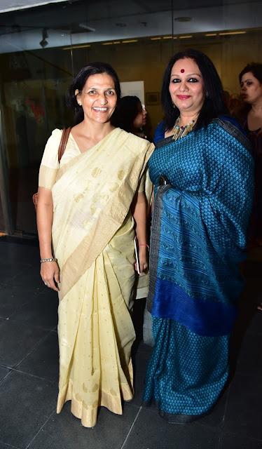 Guru Maa Acharya Anita with Cultural Visionary Prathibha Prahlad