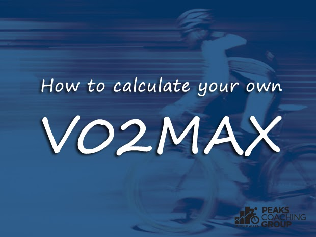 Peaks Coaching Group How to Calculate Your Own V02Max