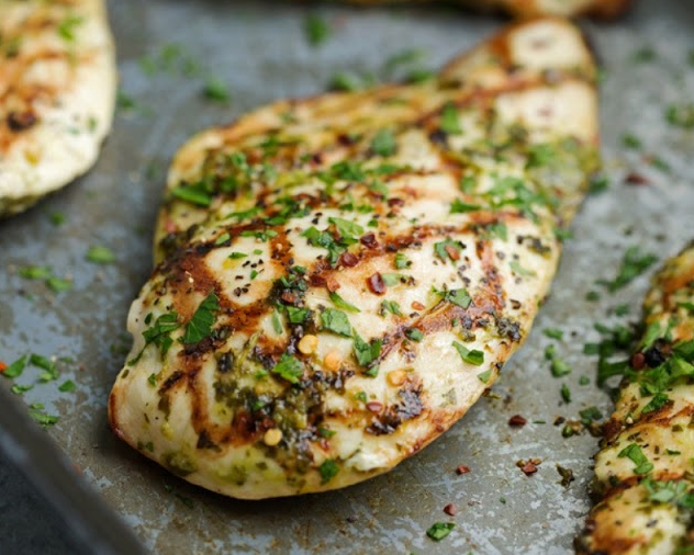 Easiest Grilled Chimichurri Chicken