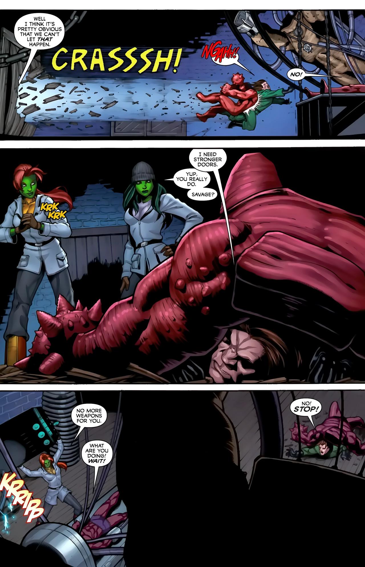 Read online She-Hulks comic -  Issue #3 - 21
