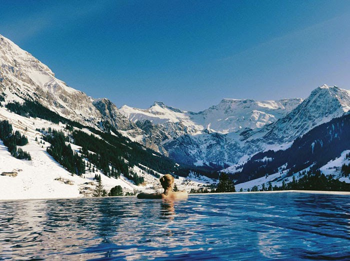 spa day The Cambrian Adelboden Switzerland