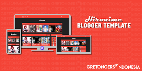 Hironime Blogger Template