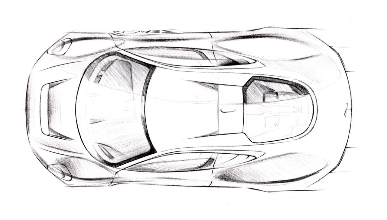 Sketsa Mobil Jaguar C X75 Concept 2010
