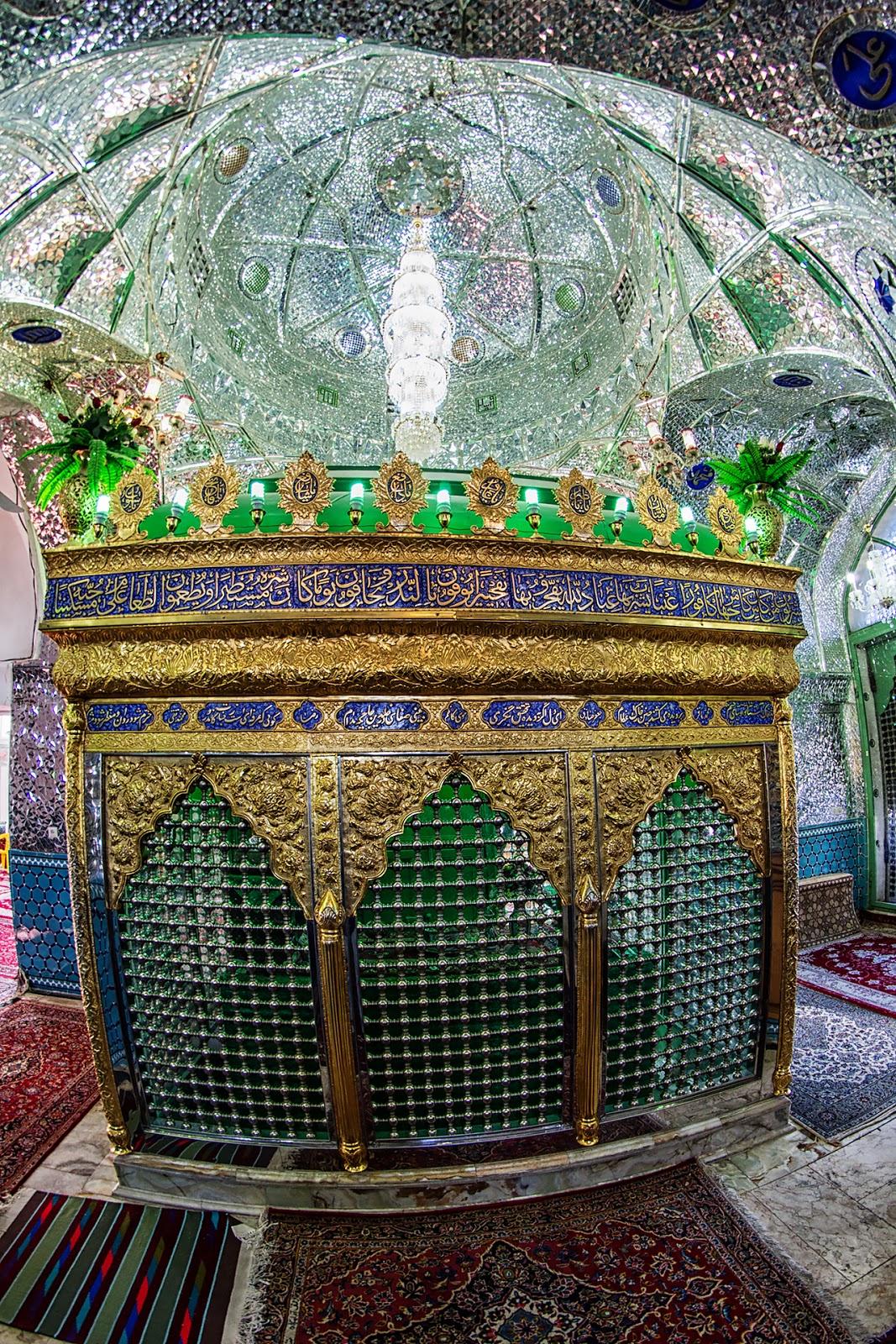 meczet Agha Bozorg,Iran,Kaszan