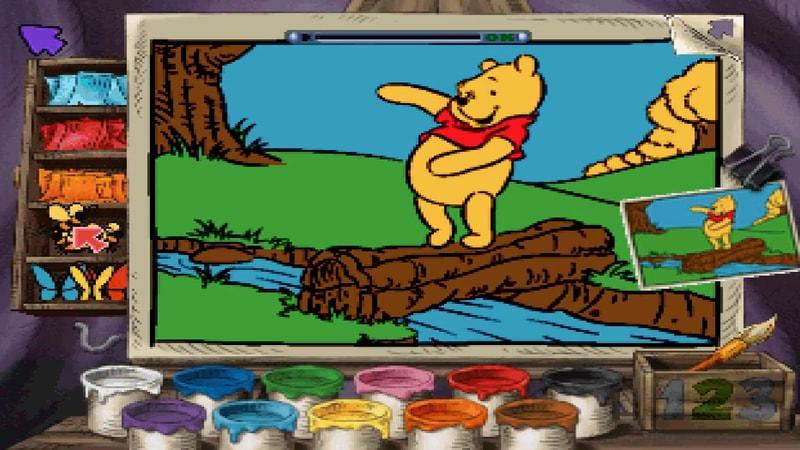 Winnie The Pooh - Preschool [ PS1 ] | Zona Games